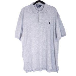 Polo By Ralph Lauren Men's Gray Polo Shirt